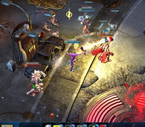 Infinite Crisis in-game screenshot 2