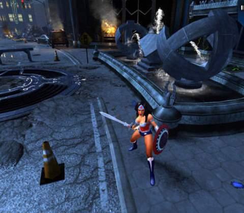 Infinite Crisis in-game screenshot 3