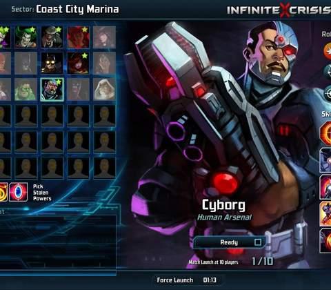 Infinite Crisis in-game screenshot 4