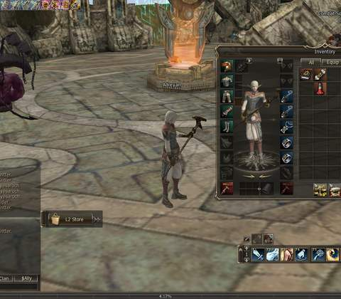 Lineage II in-game screenshot 4