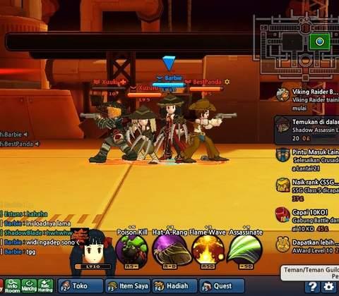 Lost Saga in-game screenshot 1