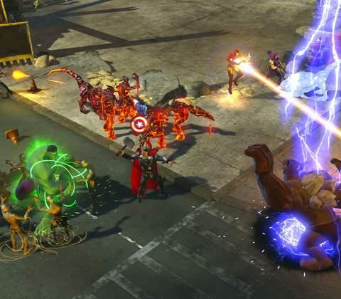 Marvel Heroes in-game screenshot 7