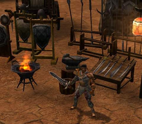 Metin2 in-game screenshot 2