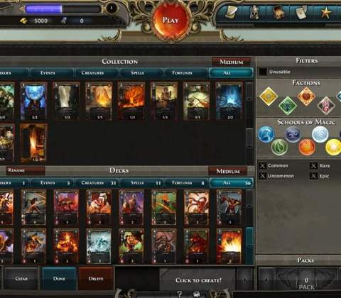 Might & Magic Duel of Champions in-game screenshot 1