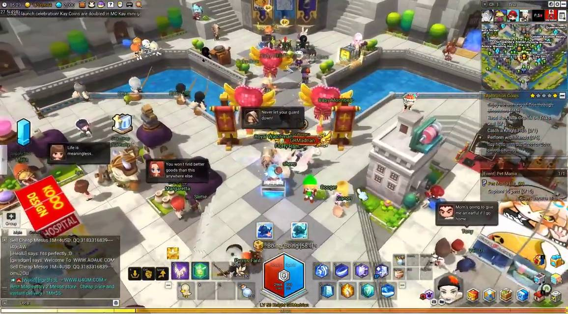 Review of MapleStory 2 - MMO & MMORPG Games