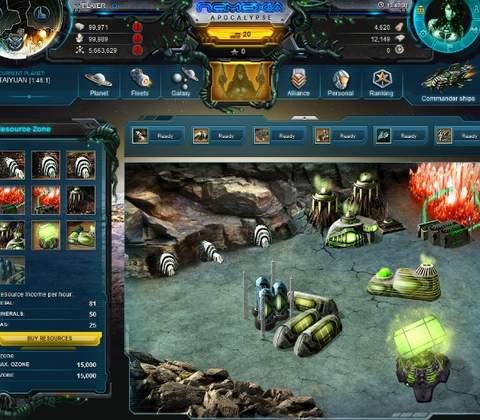 Nemexia in-game screenshot 1
