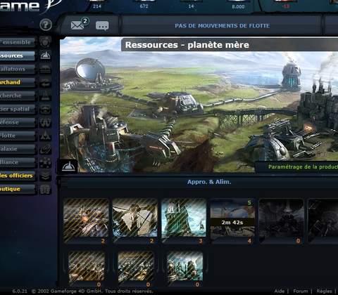 Ogame in-game screenshot 7