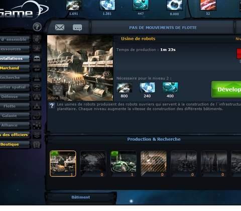 Ogame in-game screenshot 8