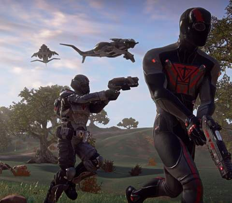 PlanetSide 2 in-game screenshot 3