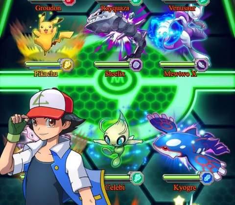 Image result for pokemon mega game PvE