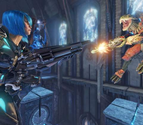 Quake Champions in-game screenshot 13