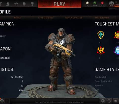 Quake Champions in-game screenshot 8
