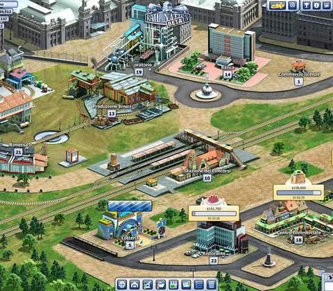 Rail Nation in-game screenshot 2