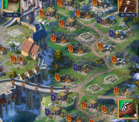 Throne: Kingdom at War in-game screenshot 3