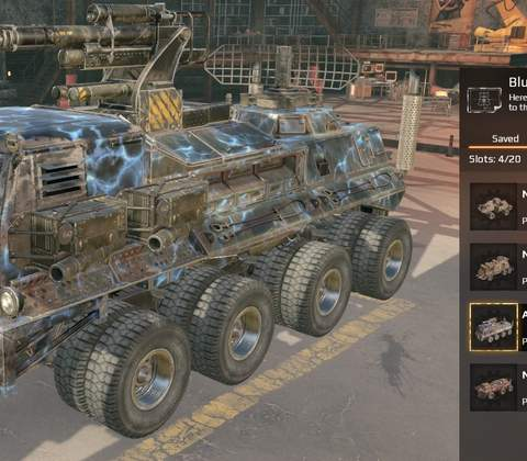 Crossout in-game screenshot 10