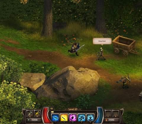 KingsRoad in-game screenshot 1