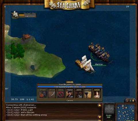 Sea Fight in-game screenshot 4