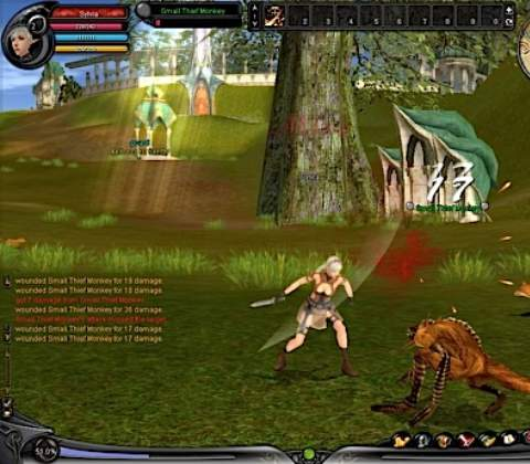 Shaiya in-game screenshot 2