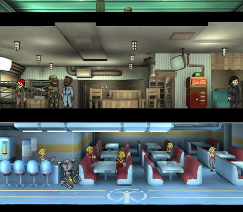 Fallout Shelter in-game screenshot 2