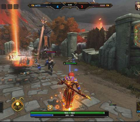 Smite in-game screenshot 3