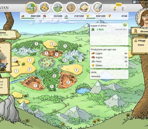 Travian in-game screenshot 1