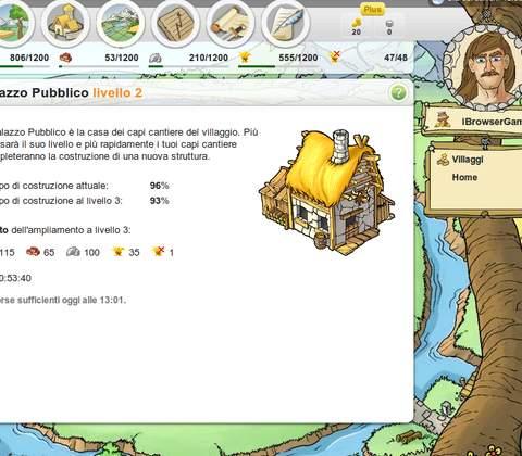 Travian in-game screenshot 2
