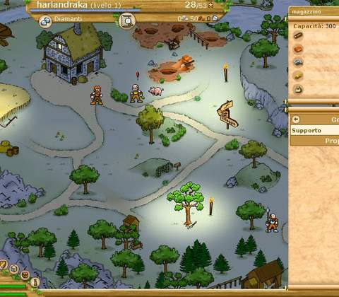 Traviani in-game screenshot 1