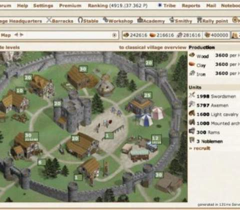 Tribals in-game screenshot 3