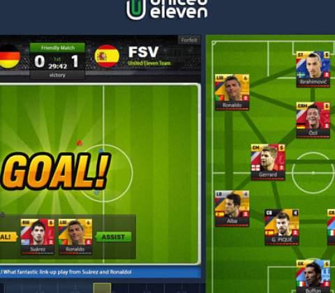 United 11 in-game screenshot 5