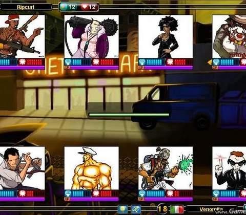 Urban Rivals in-game screenshot 3
