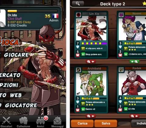 Urban Rivals in-game screenshot 6