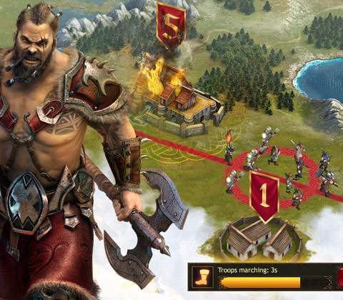 Vikings: War of Clans in-game screenshot 4
