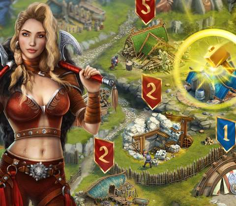 Vikings: War of Clans in-game screenshot 5