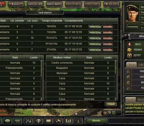 War 2 Glory in-game screenshot 1