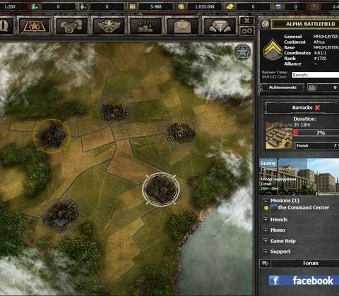 Wargame 1942 in-game screenshot 4