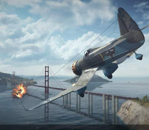 World of Warplanes in-game screenshot 10