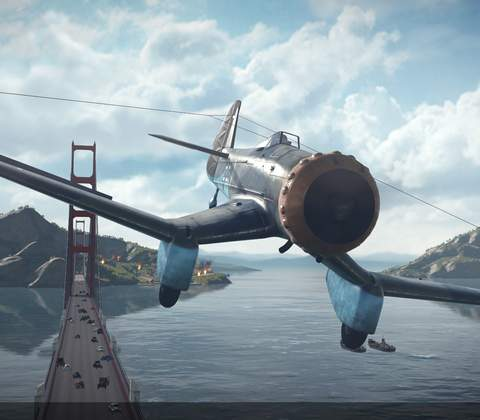 World of Warplanes in-game screenshot 9