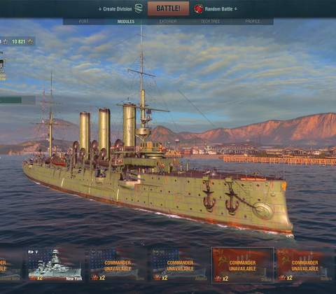 World of Warships in-game screenshot 9