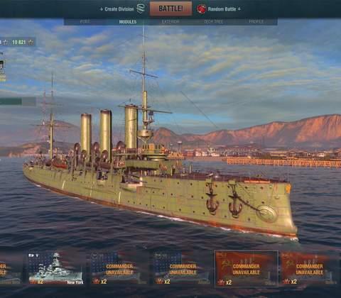 World of Warships in-game screenshot 9