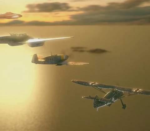World of Warplanes in-game screenshot 2
