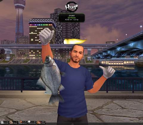 World Tour Fishing in-game screenshot 1