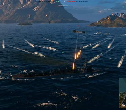 World of Warships in-game screenshot 2