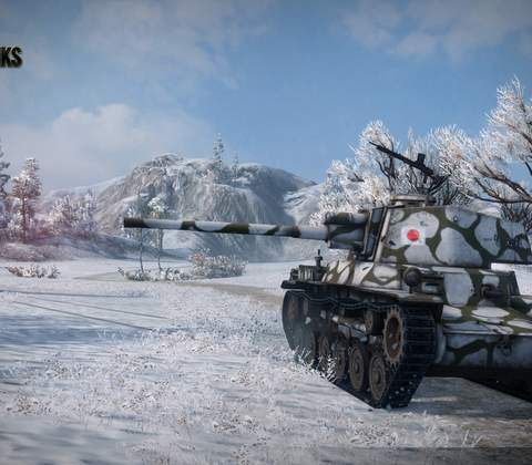 World of Tanks in-game screenshot 4