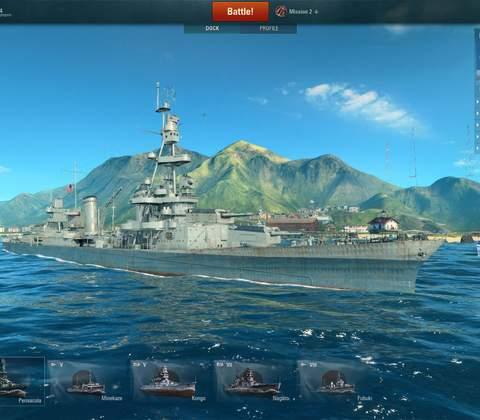 World of Warships in-game screenshot 6