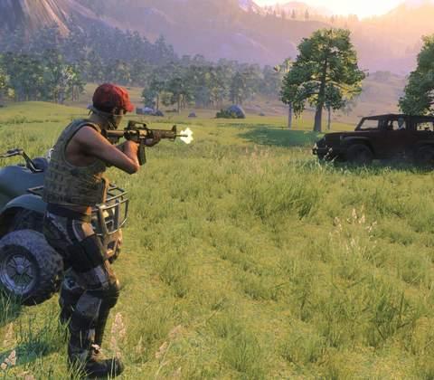 Z1 Battle Royale in-game screenshot 1